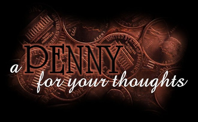 Penny 4 Your Thoughts Art Project