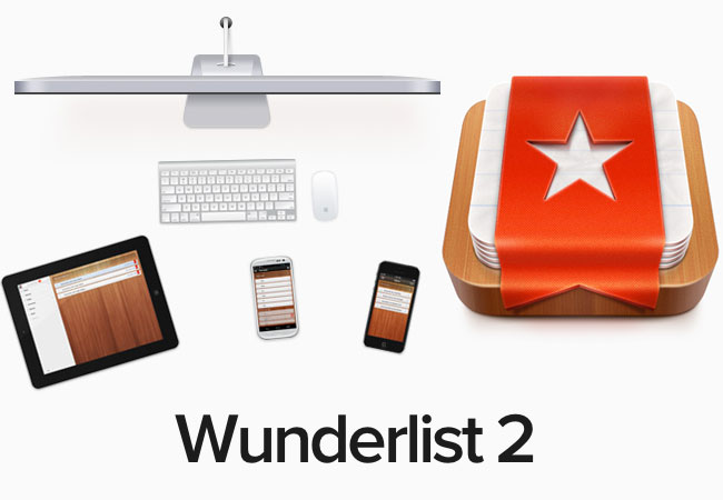 Wunderlist app to get things done