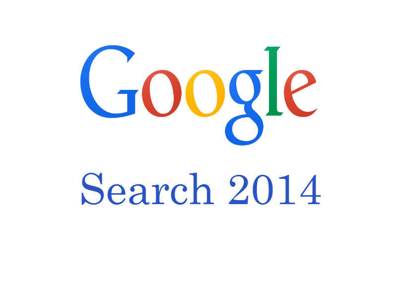 Google 2014 Searches of the Year!