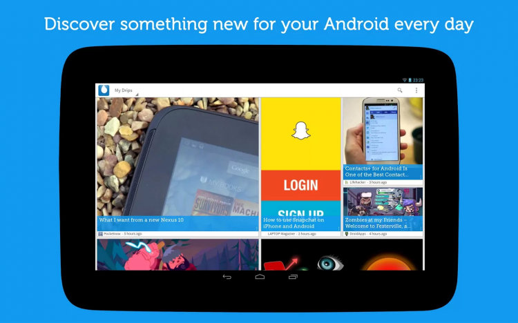 Tips-and-Tricks-with-Drippler-Android-App